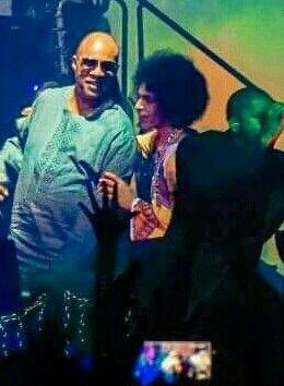 Prince & Stevie Wonder