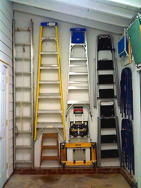 Fun organizing ladders for a Little Virgo client -- looks ...