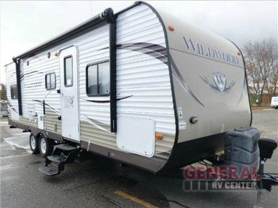 Used 2013 Forest River RV Wildwood 26TBSS Travel Trailer at General RV | White Lake, MI | #118559