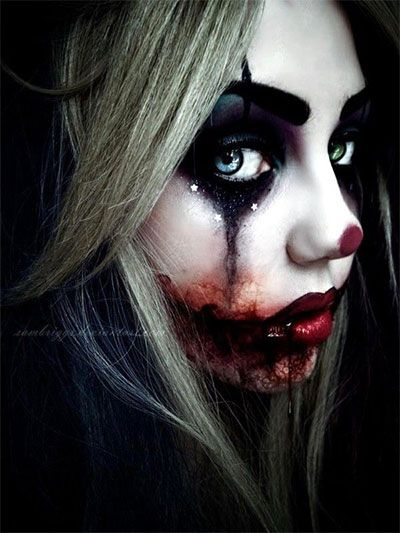 Very Scary Halloween Make Up Ideas For Girls 2013/ 2014 | Girlshue