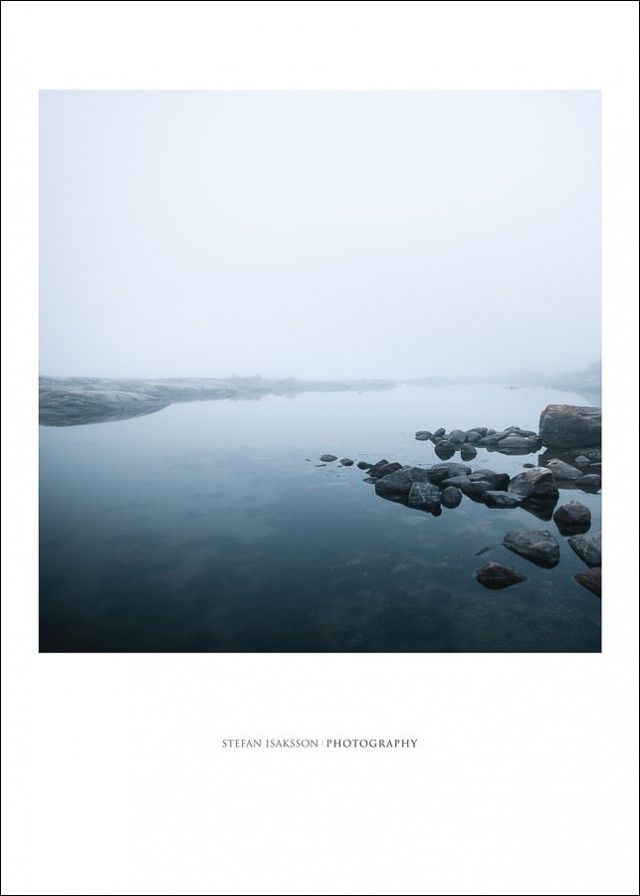 As we're approaching autumn, things are getting colder and I do love the first misty mornings.  This amazing photo, called Silence, is created by photographer Stefan Isaksson and was shot a misty autumn morning in Bohuslän, Sweden. Just love it!!!