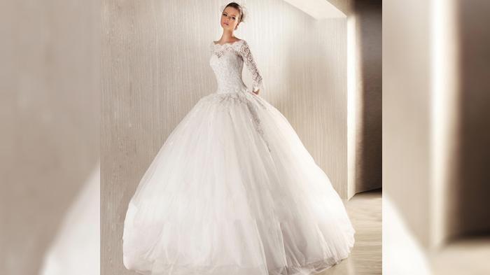Gaun Pengantin - Intip Yuk! White Gown Elegan Saat Bersanding di Pelaminan…