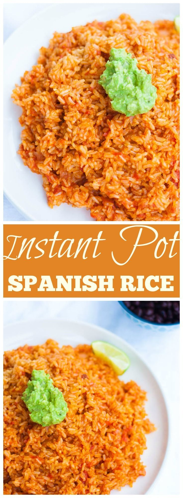 Vegan/ Gluten Free Instant Pot Spanish Rice. 5 Ingredients, 30 minutes.