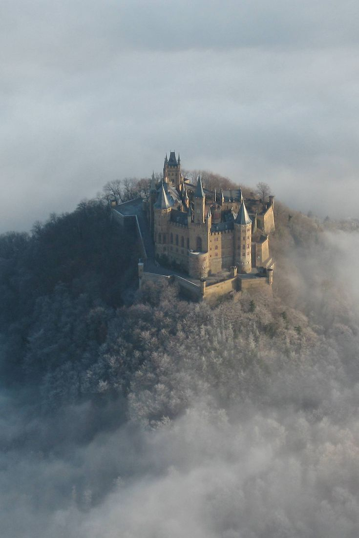 Hohenzollern Castle in Germany, constructed for King Frederick William IV of Prussia between 1846 and 1867.  #history, #heritage , #architecture