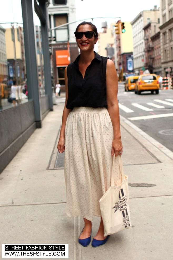 Dress code new york chic casual style