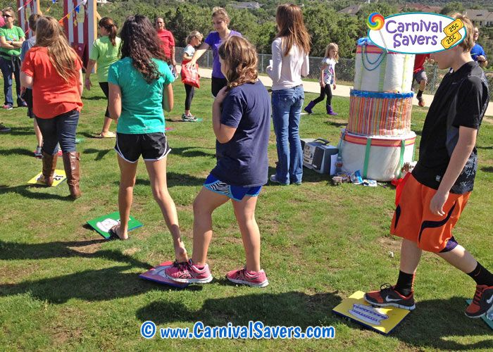 Cake Walk Traditional Carnival Booth Game