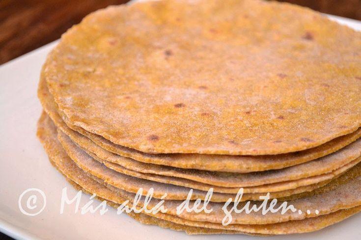 Más allá del gluten...: Tortillas de Ahuyama / Calabaza (Receta GFCFSF, Vegana)