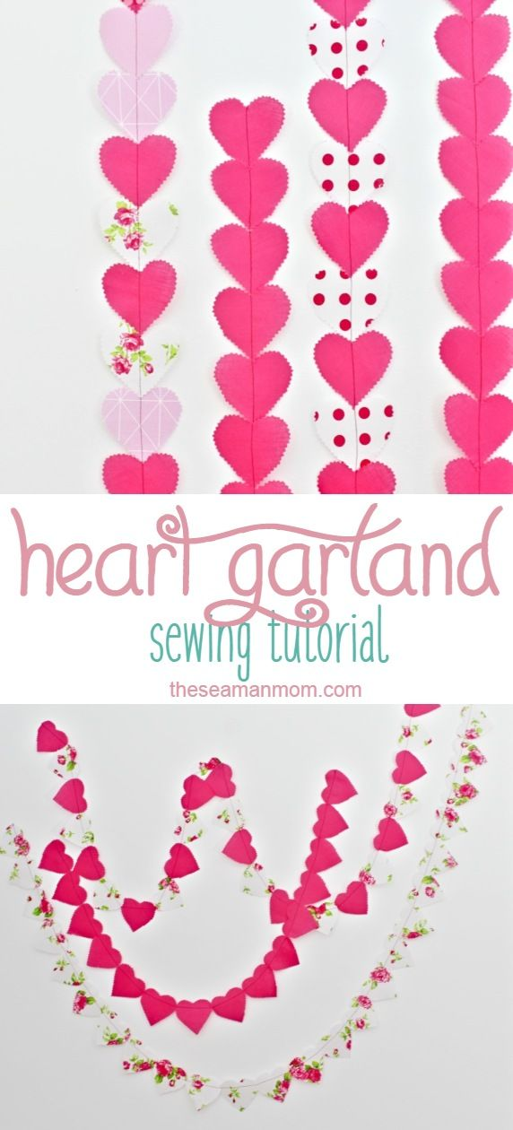 If You Re Looking For A Sweet Valentine Garland To Add To Your