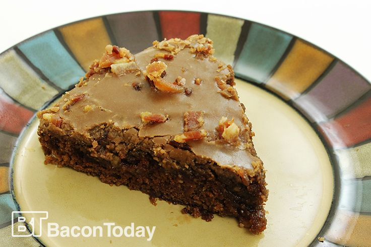 Chocolate Bacon Soda Cake... You know that bacon grease you've been saving in your fridge? This recipe uses ¾ cup of bacon grease in the cake and the frosting. The result is one of the richest, moistest cakes you've ever tasted.