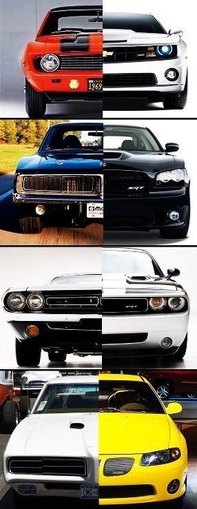 A evolução dos carros.