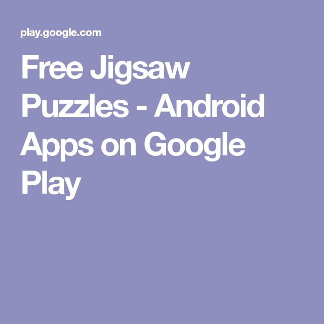 Free Jigsaw Puzzles - Android Apps on Google Play