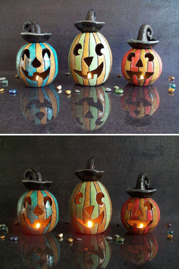 Halloween pumpkin candle holder Essential by FedericoBecchettiArt
