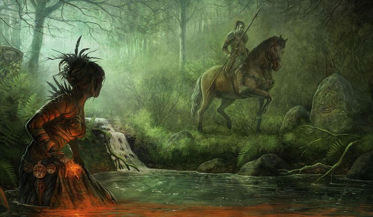Artwork Celtic Mythology Goddess Morrigan