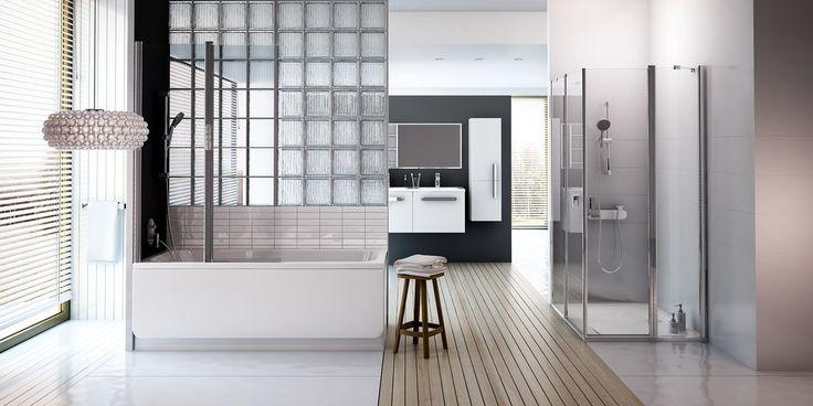 Une salle de bain lumineuse et agréable