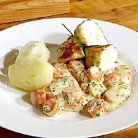 """Fiskekaker - oppskrift. Recipe for Norwegian """"fish cakes"""""""