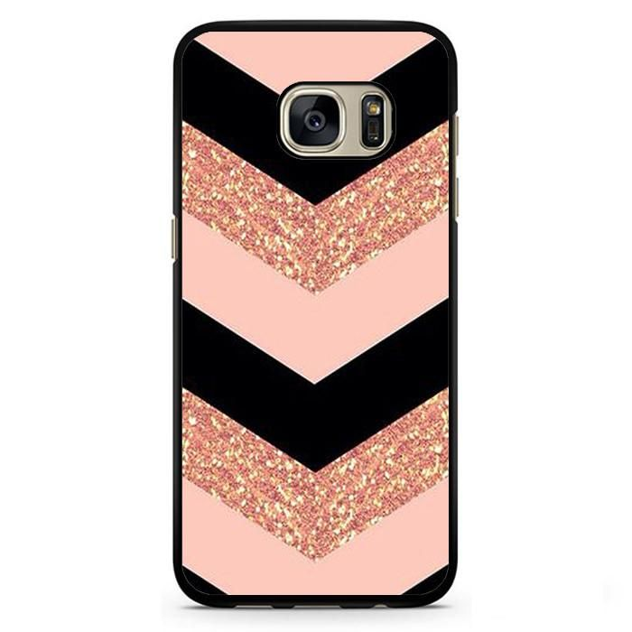 Pink Glitter Chevron Phonecase Cover Case For Samsung Galaxy S3 Samsung Galaxy S4 Samsung Galaxy S5 Samsung Galaxy S6 Samsung Galaxy S7