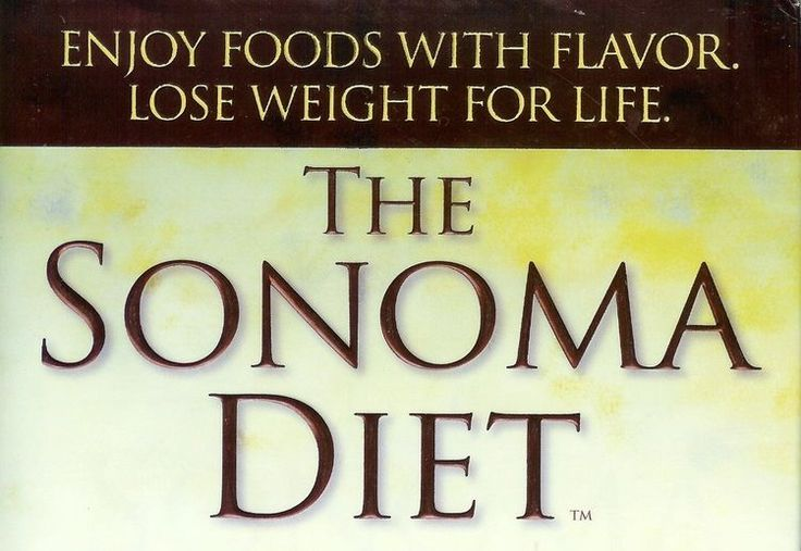 How to Get Started on the Sonoma Diet