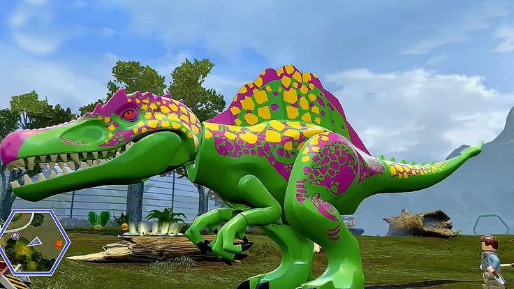Мир Юрского Периода.Создание Новых Видов Динозавров.Игры Мультики Диноза...