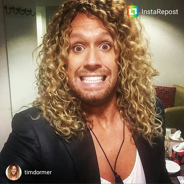 repost via @instarepost20 from @timdormer About to meet Mr Bouris in the Celebrity Apprentice boardroom for the first time....nervous smile. Shout out to my dentist @drangelolazaris! #WinningSmile #CelebApprentice #SuitNoTie #HopeIDontGetFiredFirst #instarepost20. Good luck @timdormer ...smash it!