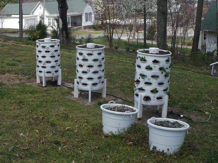 Best 25 tower garden ideas on pinterest grow tower for Vertical garden tower