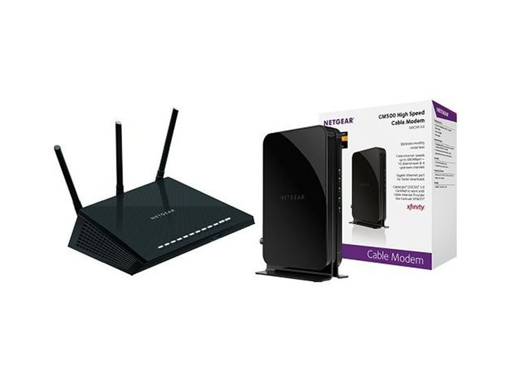 This Nighthawk R7600 router and CM500 modem bundle is now at its lowest price ever.