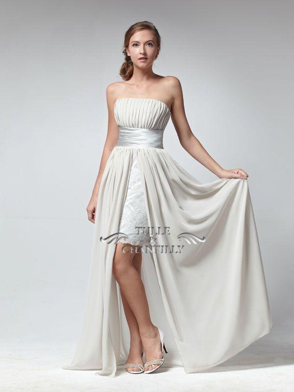 Style lace dress inside short