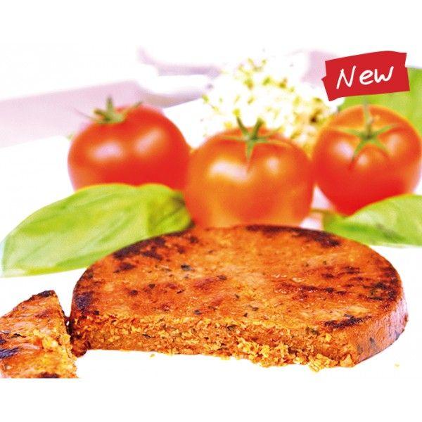 Warzywny placek z pomidorami i bazylią http://www.eurodieta.pl/eurodieta,produkt,32