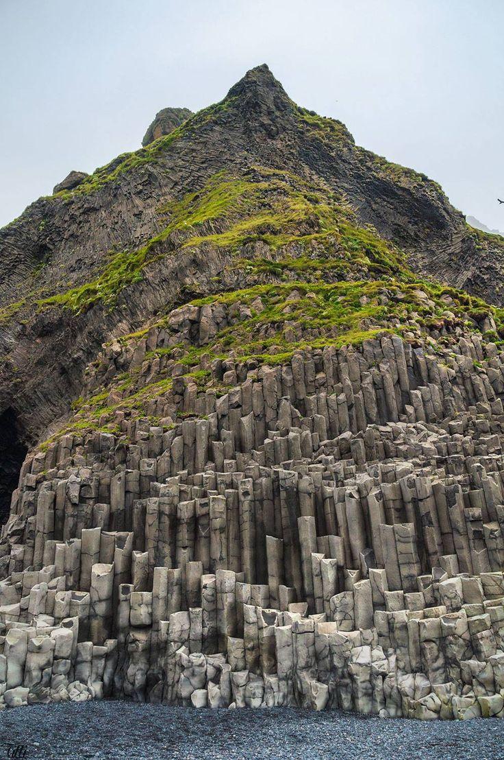 Reynisfjara, Iceland (reminds me of some columnar basalt formations in Oregon)