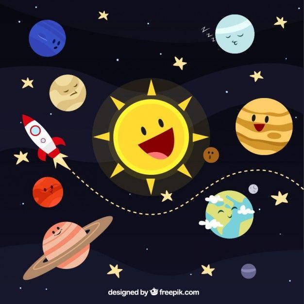 sistema solar animado - Buscar con Google