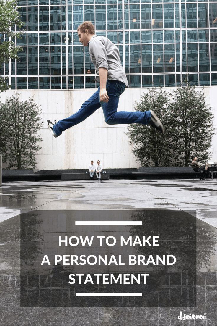 die besten ideen zu personal brand statement auf how to make a personal brand statement