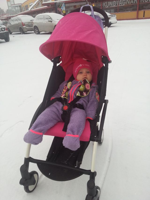 Yoyo In Winter Babyzen Yoyo Stroller Pinterest