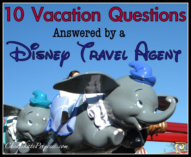 Have questions about a Disney World vacation? Here are 10 common questions answered by a Disney Travel Agent. (Planning article)