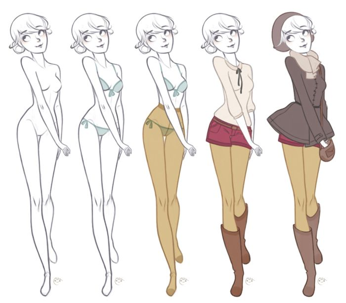 Character Design Evolution : Best sketch a dress images on pinterest fashion