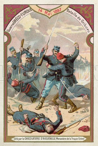 Battle of Gribovo, Greco-Turkish War, 14 May 1897