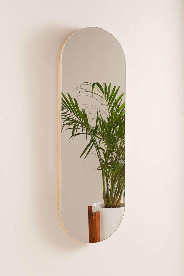 Birch Edge Oval Mirror