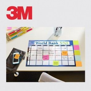 3M™ Custom Printed Planner with Post-it® Full Adhesive Notes
