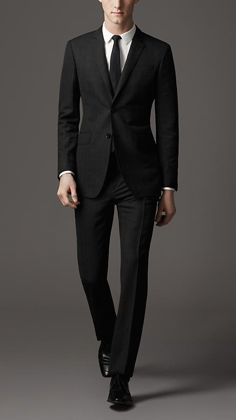 Burberry Modern Fit Virgin Wool Pinstripe Suit | Spring/Summer 2013