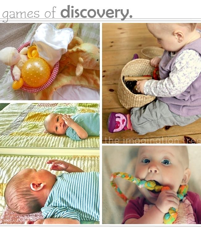 Play ideas for babies, help them explore and discover their world.