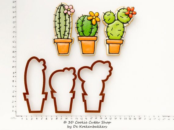 Cactus Cookie Cutter Set