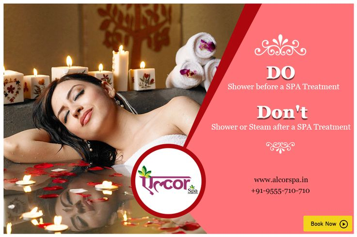 Here is what you should do and don't before and after a spa treatment. Call: +91-9555 710 710 or visit us at: http://alcorspa.in/book-appointment/ to book one for yourself. #AlcorSpa #SpaTreatment #Tip #RelaxYourself