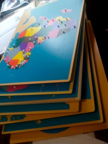 Craft Knife: Our New Montessori Map Puzzles (all 8 for $195 + 10% off summer special)