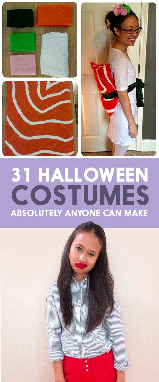 31 halloween costumes that require absolutely no skill - Inexpensive Halloween Costume