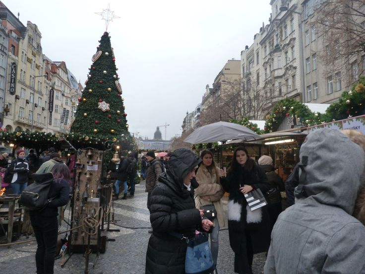 Wenceslas Square is just a five-minute walk away from the Old Town Square. It's nice, but I've noticed that it has almost exactly the same things to offer in terms of goods and food, and is priced pretty much identically as well.