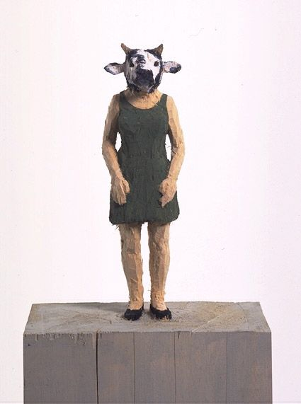 STEPHAN BALKENHOL http://www.widewalls.ch/artist/stephan-balkenhol/ #contemporary #art #sculpture
