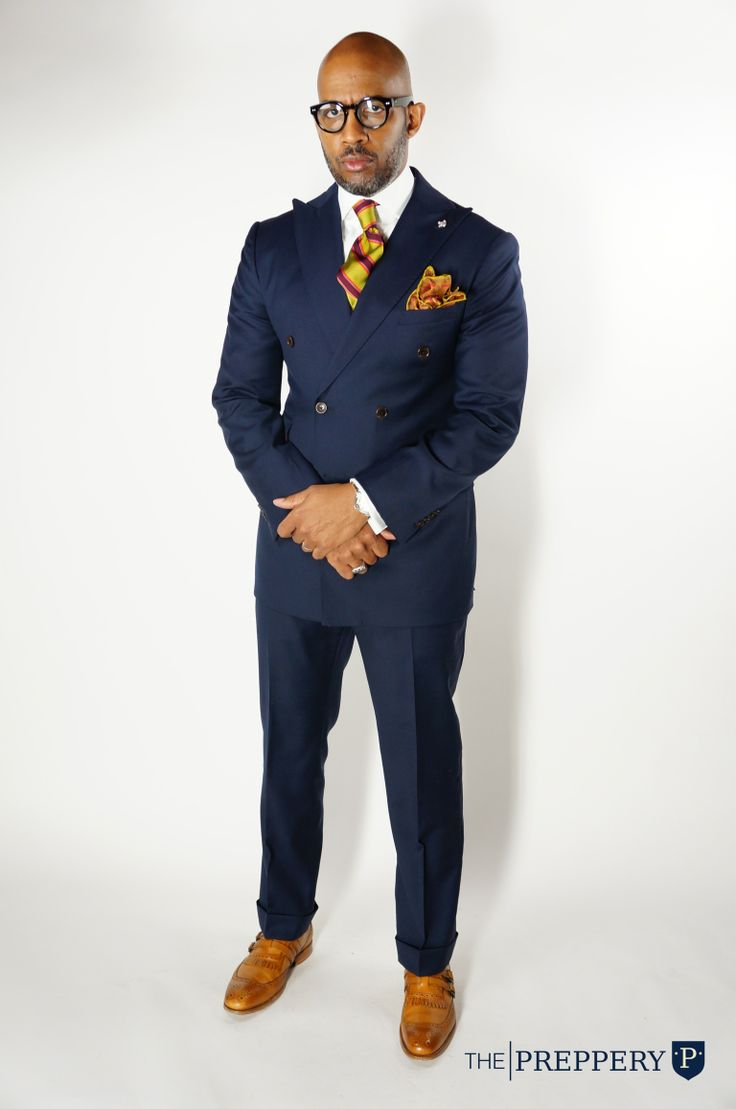 Double Breasted Suit | ThePreppery.us #CustomMenswear #CustomClothing