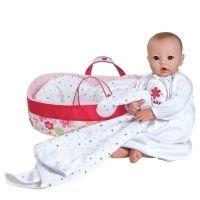 Adora Nurserytime Baby pop lichte huis/bruine ogen (compleet)