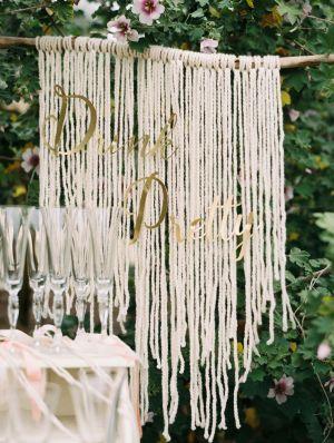 Drink pretty! http://www.stylemepretty.com/california-weddings/bakersfield/2015/08/24/bakersfield-garden-party-bridal-shower/   Photography: Mariel Hannah - http://www.marielhannahphoto.com/