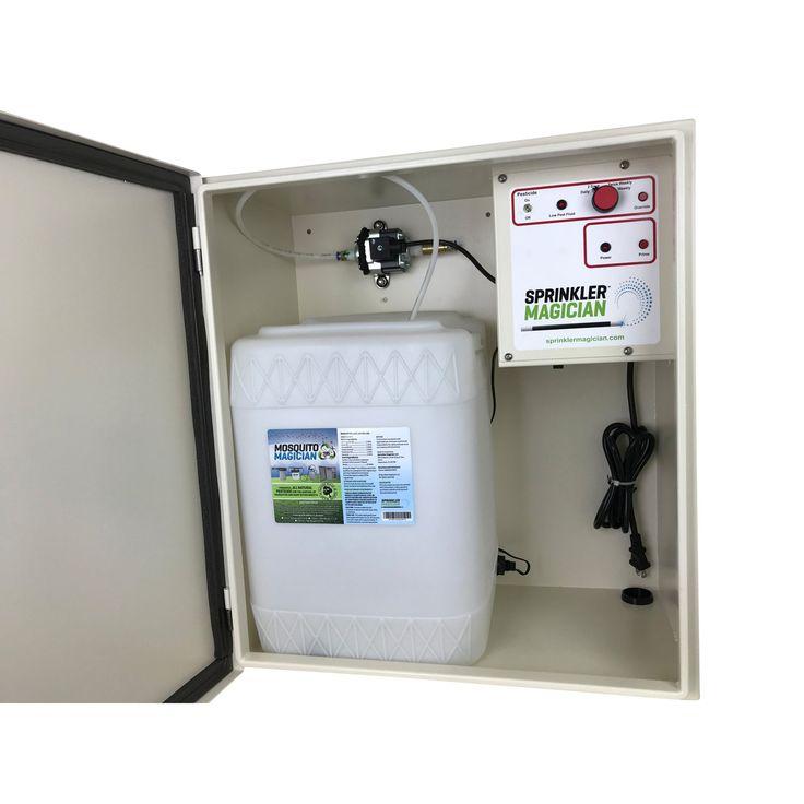 Sprinkler Magician Natural Single Reservoir Mosquito Repellent Machine - SMSRMV4