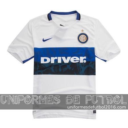 Jersey visitante para uniforme del Inter Milan 2015-16 | uniformes de futbol economicos