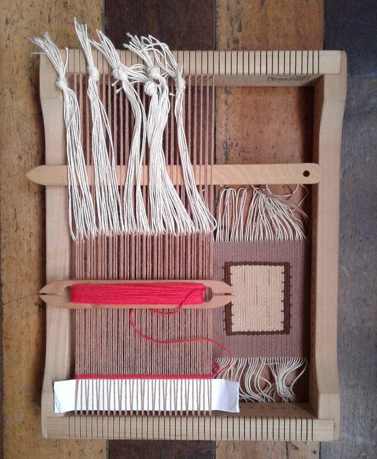 Terminar y volver a empezar. #tejer #weave #tapiceria #tapestry #tapestryweaving